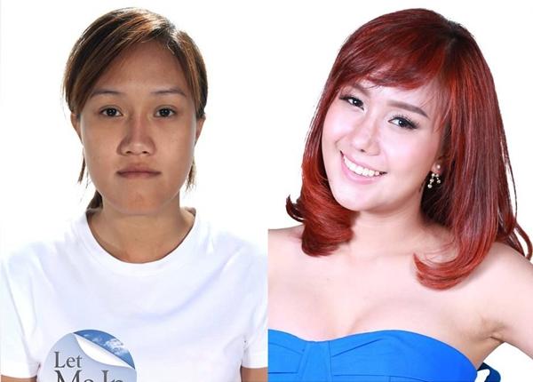 """Udomporn """"Som"""" Assawakawinwong ngay lập tức trở thành hot girl trên mạng xã hội sau khi tham gia Let Me In Thailand."""