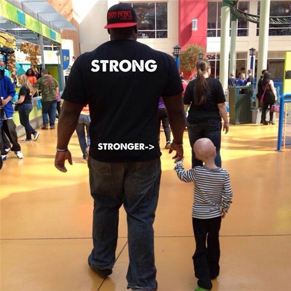 Davidcho biết chính đã giúp Lindsaytiếp thêm sức mạnh cho anh.