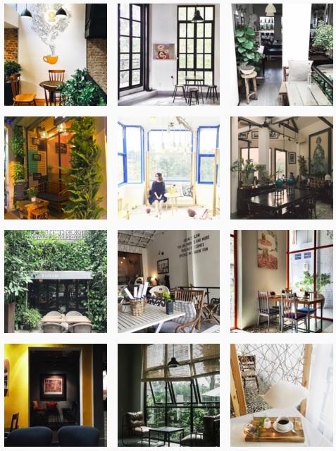 Giờ đây bạn có thể dễ dàng tìm kiếm vô vàn những quán cà phê sao cho hợp gu của mình từ những trang chuyên viết review và chụp ảnh siêu long lanh như thế này.