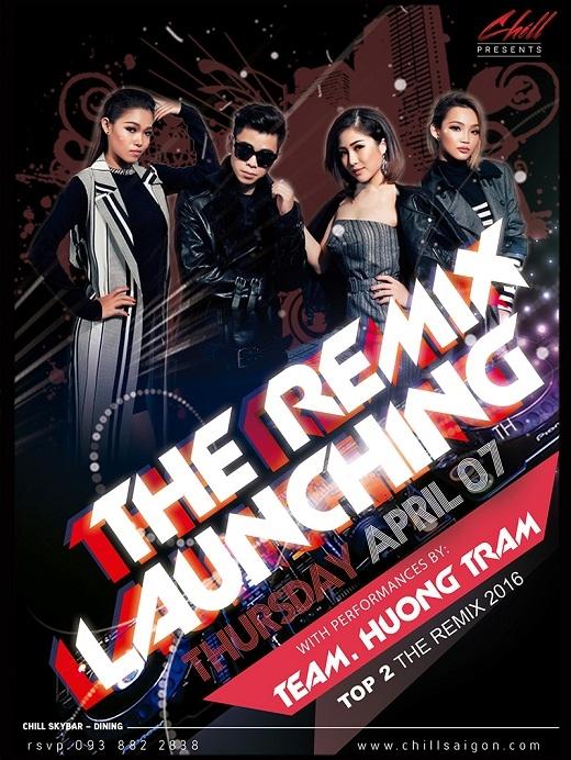 Team Hương Tràm sẽ tái hợp trong The Remix Launching Party tại Chill Skybar vào ngày 07/04 nàyvà mang đến một bữa tiệc âm nhạc đầy sôi động và vô cùng cuồng nhiệt. (Ảnh: Internet)