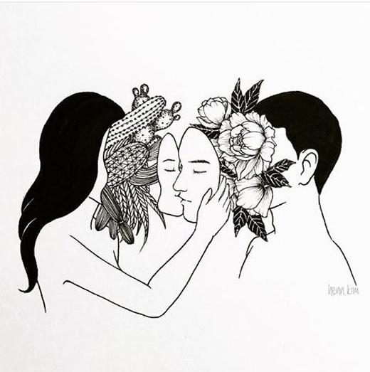 Dưới gương mặt thánh thiện ấy là những cây xương rồng gai góc. Dưới nét điển trai ân cần kia lại là những đóa hoa có mùi hương chết người. Ta dung hòa nhau hay ta làm đau nhau, đó là lựa chọn của chính chúng ta.(Ảnh: Internet)