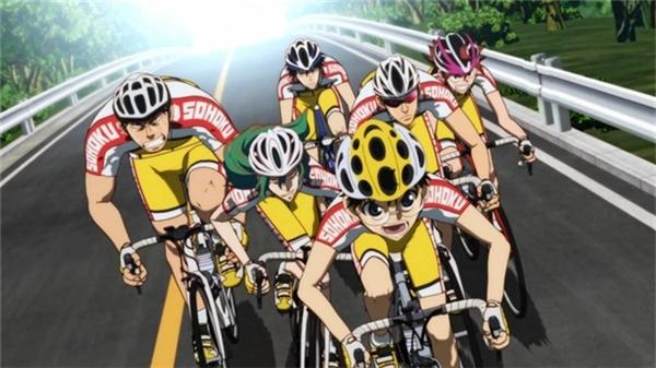 Duyên số đã đưa đẩy Onoda đến với chiếc xe đạp và giúp cậu trở thành một tay đua cự phách.(Ảnh: Internet)