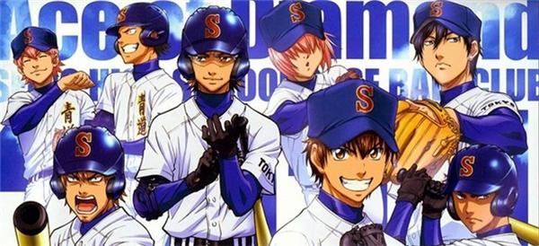 Diamond no Ace là bộ truyện tranh cũng như phim hoạt hình khá nổi tiếng về bóng chày.(Ảnh: Internet)