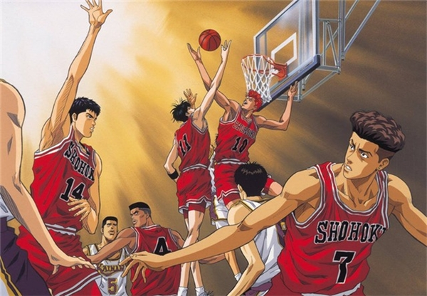 Bộ truyện Slam Dunk nhanh chóng gặt hái được nhiều thành công tại Nhật Bản.(Ảnh: Internet)