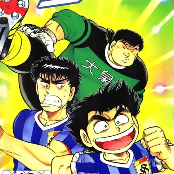 Nhắc đến truyện tranh về bóng đá chắc chắn Kattobi Itto là Manga xếp hàng đầu.(Ảnh: Internet)