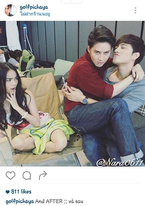 Cái kết khó đỡ sau đó trên Instagram của chàng Man, vẫn với caption tiếng Việt song song tiếng Thái