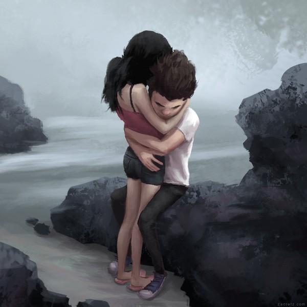 Có anh ở bên, em sẽ vượt qua mọi sóng gió trên đường đời.