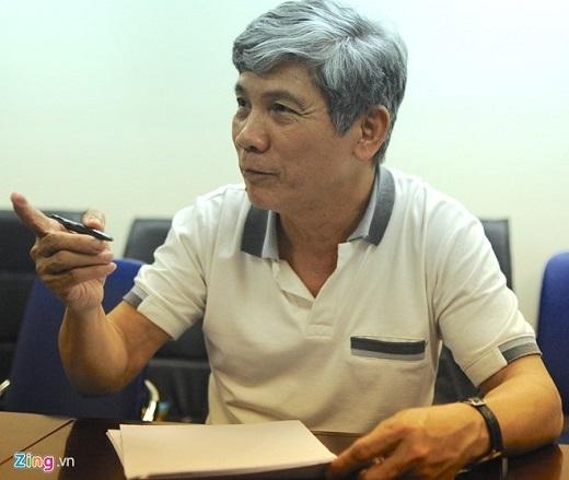 Ông Lê Đình Cường trả lời báo chí sau cuộc họp Ban đàm phán chiều 8/4.