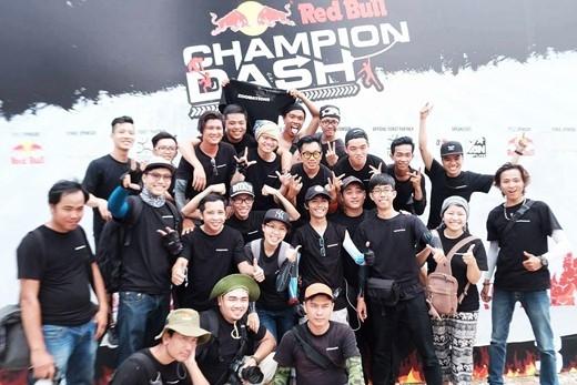 Red Bull Champion Dash quả thực đã đem tới rất nhiều những trải nghiệm khó quên. (Ảnh: Internet)
