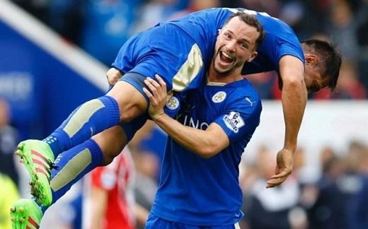 Leicester City đang có cơ hội vô địch rất lớn khi những đối thủ trực tiếp gặp khó khăn trong vòng đấu này.(Ảnh: Internet)