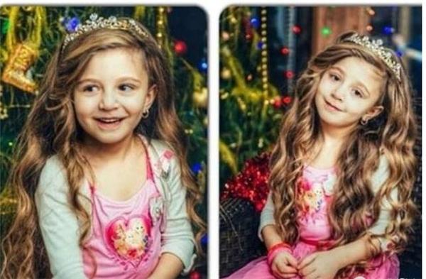 Cô bé dù mới 6 tuổi nhưng đã rất có nét, sau này sẽ trở thành một cô gái xinh đẹp. (Ảnh: Internet)