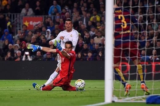 Có thể đây là trận El Clasico cuối cùng của Ronaldo. (Ảnh: Getty Images)