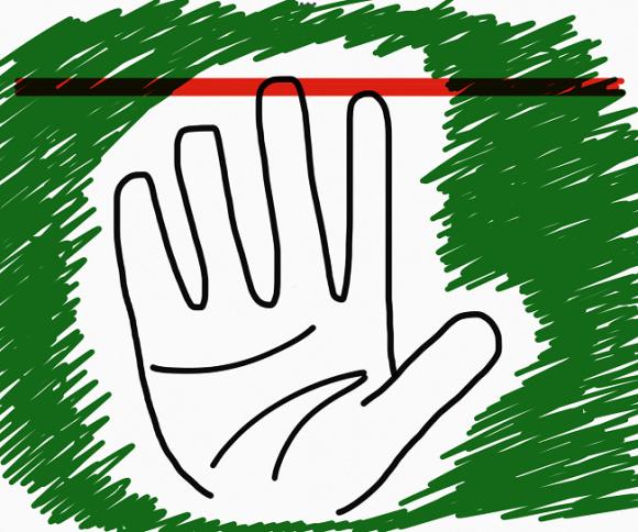 Những người có ngón trỏ dài hơn ngón đeo nhẫn rất tham vọng và có tố chất của một người lãnh đạo. (Ảnh: Internet)