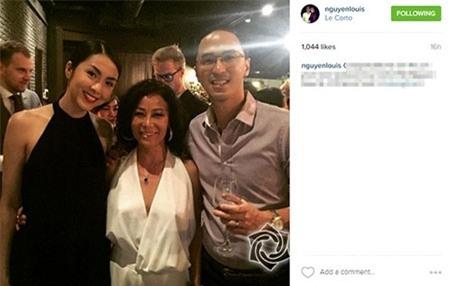 Chồng Hà Tăng bất ngờ khoe ảnh đi sự kiện cùng vợtrên trang cá nhân - Tin sao Viet - Tin tuc sao Viet - Scandal sao Viet - Tin tuc cua Sao - Tin cua Sao
