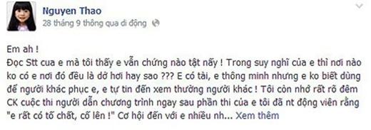 """MC Thanh Thảo chê Trấn Thành """"ảo tưởng về bản thân, xem thường người khác"""" - Tin sao Viet - Tin tuc sao Viet - Scandal sao Viet - Tin tuc cua Sao - Tin cua Sao"""