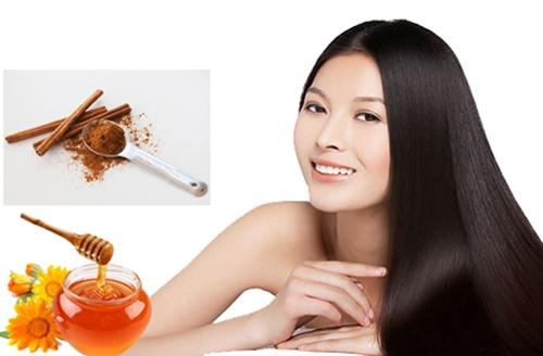 Quế và mật ong là nguyên liệu làm nên loại mặt nạ giúp da mịn, tóc mượt.