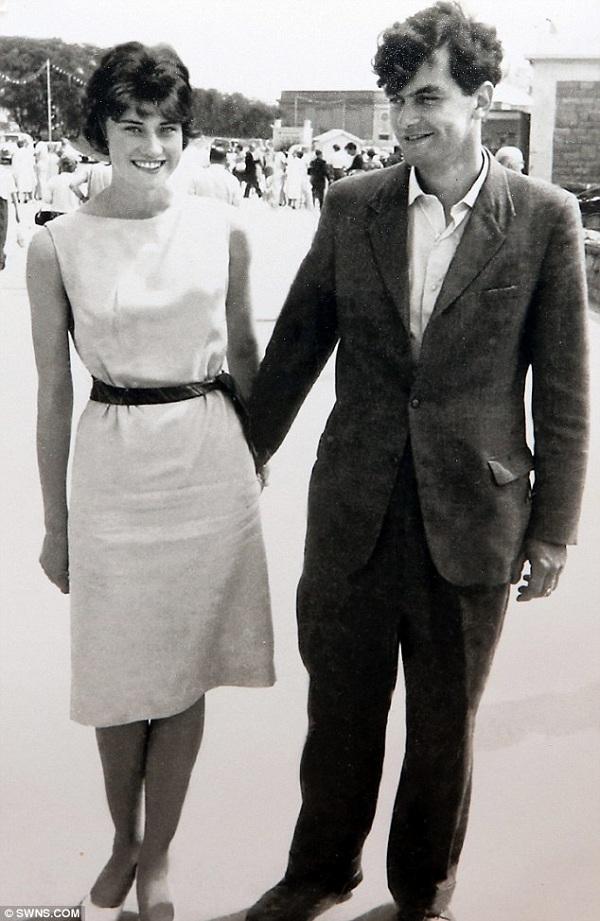 Ông Winston và bà Janet kết hôn năm 1962. (Ảnh: Internet)