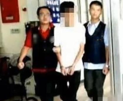 Vương Hân Dật bị bắt vào năm 2012 sau khi đánh trọng thương người khác