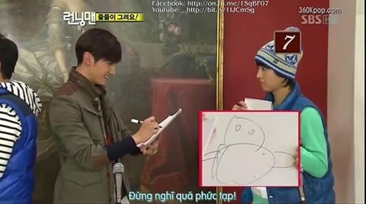 """Ngã ngửa với tài hội họa của """"đại boss"""" Song Joong Ki"""