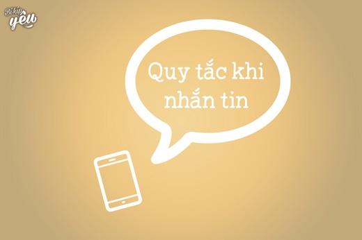 Bạn đã biết gì về quy tắc khi nhắn tin chưa? (Ảnh: Internet)