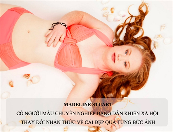 Madeline Stuart, cô người mẫu chuyên nghiệp mắc bệnh Down đầu tiên trên thế giới