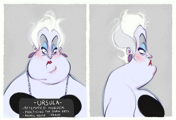 1. Phù thuỷ bạch tuộc Ursula bị bắt giam với hàng loạt tội danh từ lừa đảo, ngược đãi động vật và cả âm mưu giết người.
