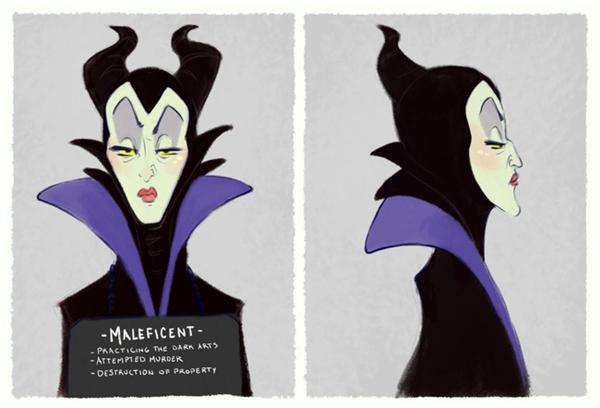 2. Maleficent có vẻ chẳng hối lỗi gì với những tội ác mình gây ra.
