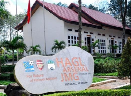 Học viện bóng đá Hoàng Anh Gia Lai. (Ảnh:HAG)