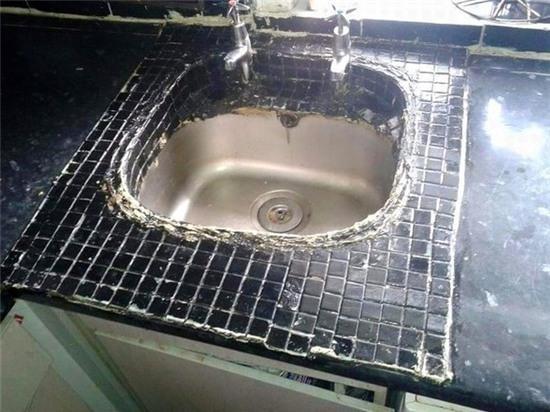 16. Phong cách bồn rửa đến từ tương lai.
