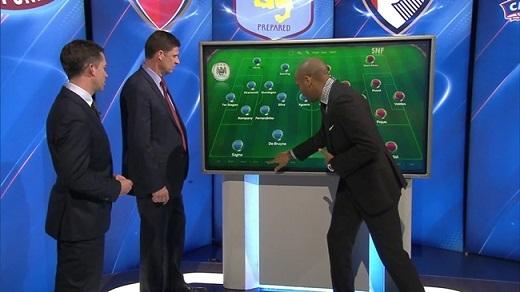 Thierry Henry dự đoán đội hình của Man City dưới thời Pep Guardiola. (Ảnh: Internet)