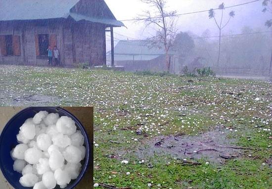 Tình hình thời tiết cực đoan tiếp tục diễn ra tại nhiều nơi, có thể xuất hiện lốc xoáy, mưa đá. (Ảnh: Giao Thông)
