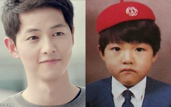 Song Joong Ki bây giờ và ngày ấy