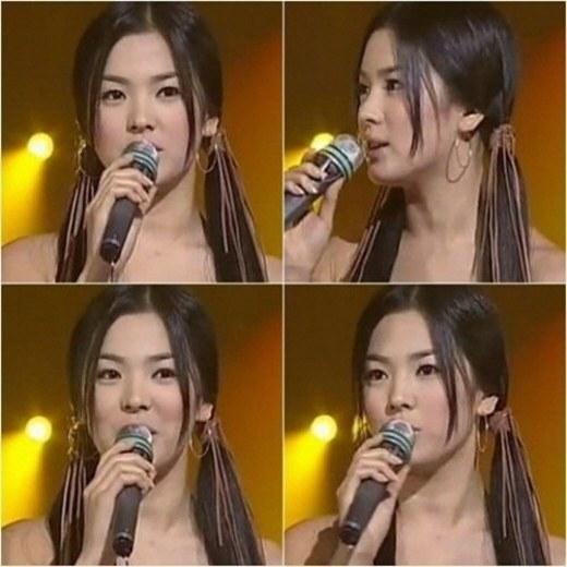 Song Hye Kyo cũng dẫn chương trình này vào năm 2000