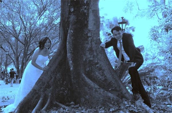 Dân mạng cạn lời với bộ ảnh cưới quá nghệ của cặp đôi này