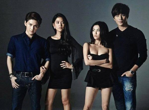 4 nhân vật chính của Tình yêu không có lỗi, lỗi ở bạn thân 2: Man, Lee, Katun và Nat