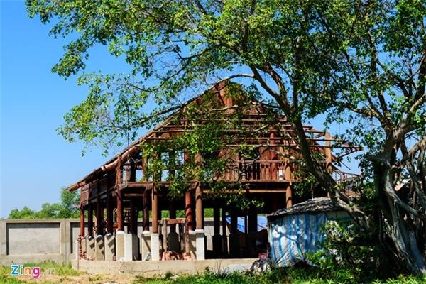 Một trong số các công trình còn dang dở của nhà thờ Tổ. Ảnh: Nguyễn Bá Ngọc - Tin sao Viet - Tin tuc sao Viet - Scandal sao Viet - Tin tuc cua Sao - Tin cua Sao
