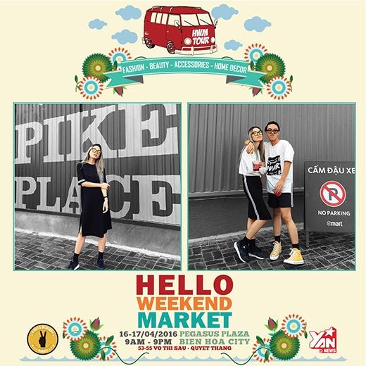 Hello Weekend Market lần đầu tiên xuất hiện tại TP Biên Hòa