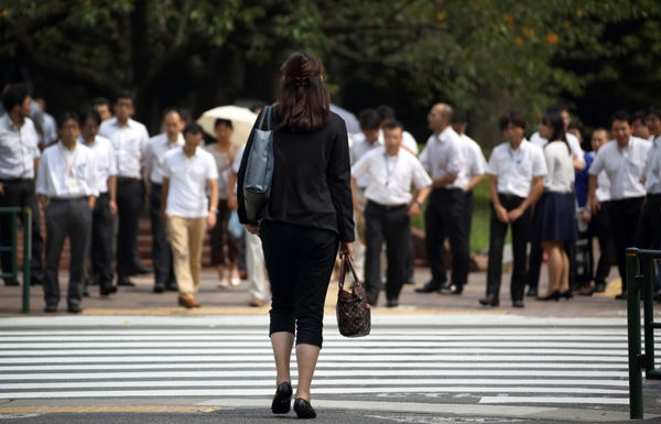 Tỉlệ bất bình đẳng giới tính ở Nhật thuộc diện cao nhất thế giới.(Ảnh: Internet)