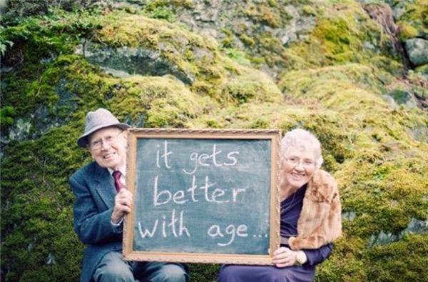 Càng già lại càng mặn mà. (Ảnh: Internet)