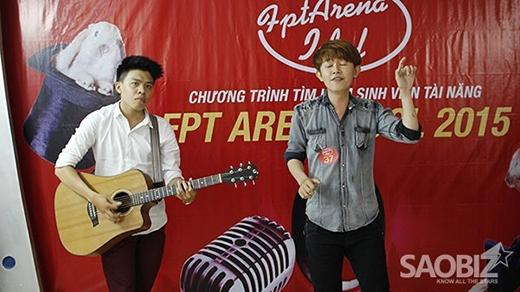 Nguyễn Chí Thiện, sinh viên FPT Arena đã trở thành quán quân năm 2015 một cách thuyết phục.