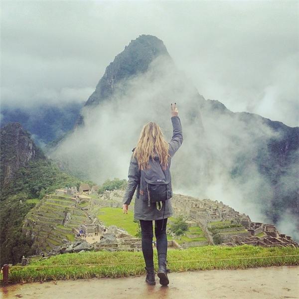 Ngày 2: Tàn tích Machu Picchu, Peru (Ảnh: Megan Sullivan)