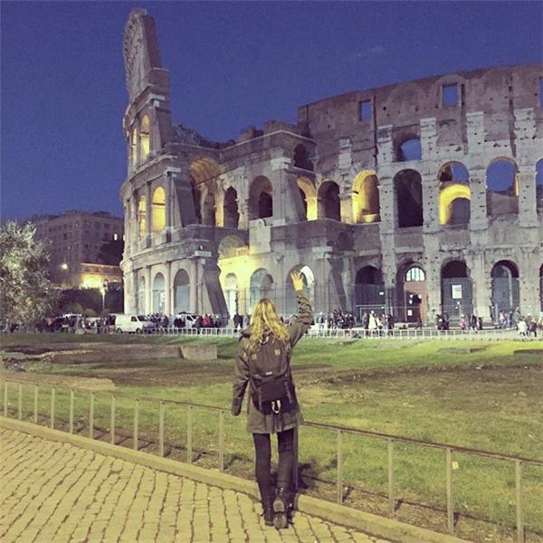 Ngày 6: Đấu trường Colosseum, Italia (Ảnh: Megan Sullivan)