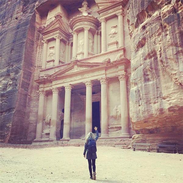 Ngày 8: Thành cổ Petra, Jordan (Ảnh: Megan Sullivan)