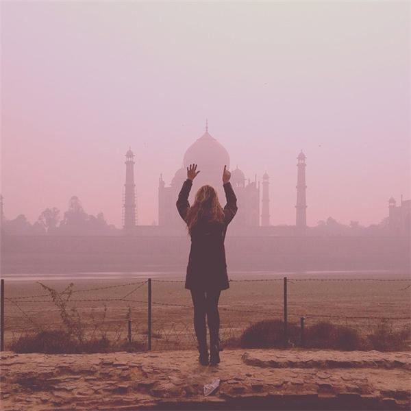 Ngày 11: Đền Taj Mahal, Ấn Độ (Ảnh: Megan Sullivan)