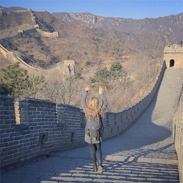 Ngày 12: Vạn Lý Trường Thành, Trung Quốc (Ảnh: Megan Sullivan)