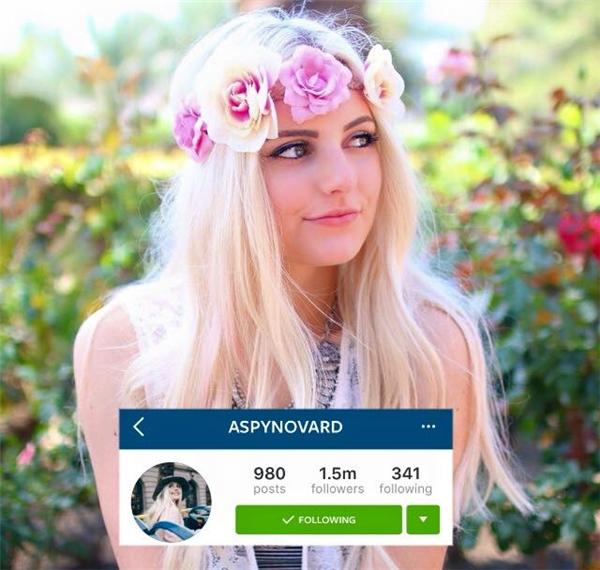 Aspyn Ovard Ferris, cô nàng Vlogger và Blogger sở hữu tài khoản Instagram với 1,5 triệu người theo dõi. Tài khoản Instagram của Aspyn được chăm chút rất kĩ lưỡng về mặt hình ảnh khiến bạn không thể rời mắt trước mỗi bức ảnh được đăng tải của cô nàng.