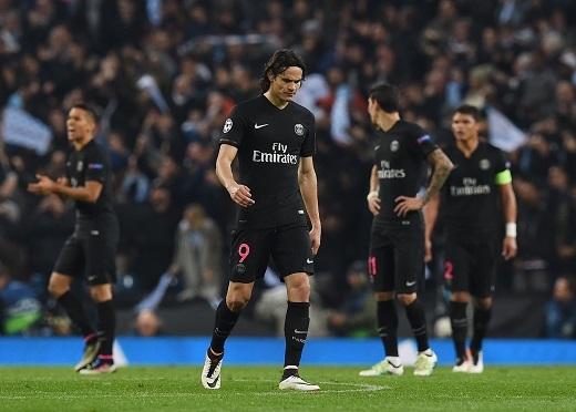 Paris Saint-Germain vừa thất bại 1-0 trước Manchester City.