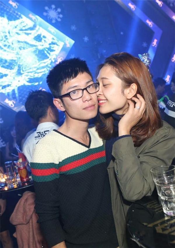 Cặp đôi Tuấn Anh và Ngọc Anh.
