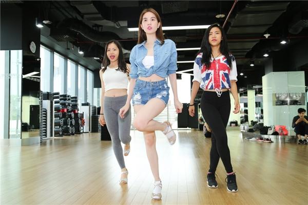 Đây sẽ lần đầu tiên người đẹp Trà Vinh thử sức mình ở một lĩnh vực hoàn toàn mới: khiêu vũ nghệ thuật.