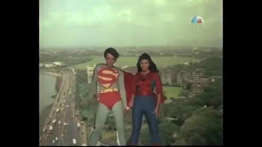 Cười ra nước mắt với Superman phiên bản... Ấn Độ